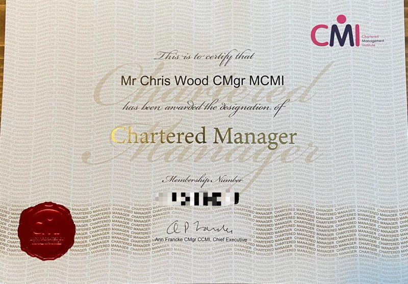 Chris W Chartered Mgr